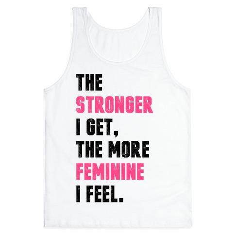Strong Feminine Workout Tank Top