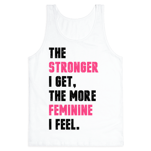 Strong Feminine Workout Tank Top
