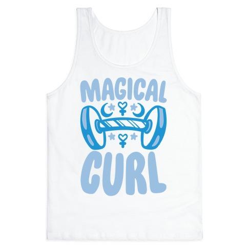 Magical Curl Parody Tank Top