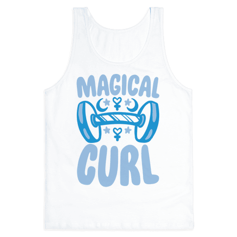 Magical Curl Parody Tank Top