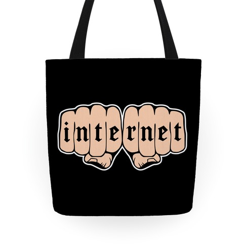 Internet Knuckles Tote Tote