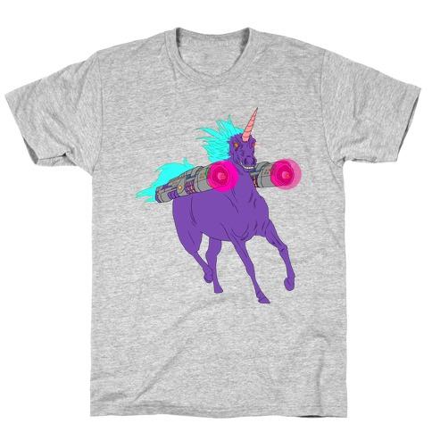 LASER WARRIOR UNICORN T-Shirt