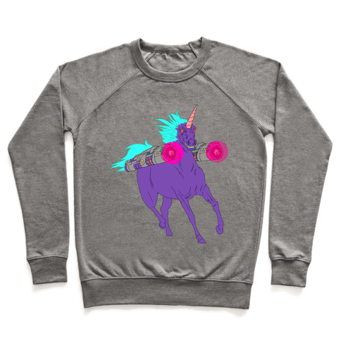 LASER WARRIOR UNICORN Pullover