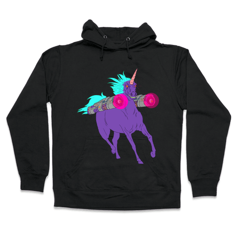 LASER WARRIOR UNICORN Hooded Sweatshirt