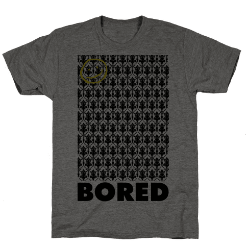 Sherlock Bored Mens T-Shirt
