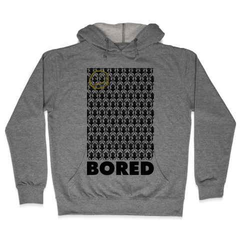 Sherlock Bored Hooded Sweatshirt