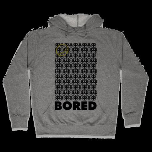 Sherlock Bored Hooded Sweatshirt