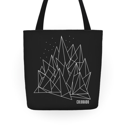Colorado Mountains Tote