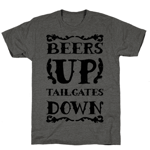Beers Up Tailgates Down