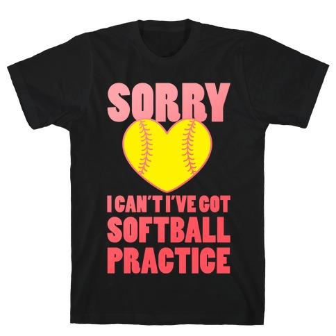 Softball Practice T-Shirt