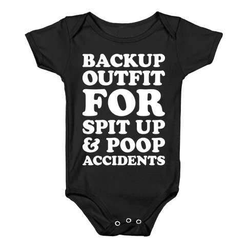 Backup Outfit For Spit Up & Poop Accidents Baby Onesy