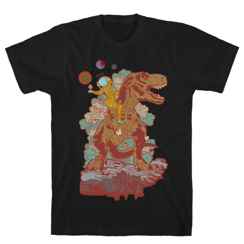 Dinosaur Strength Tarot T-Shirt