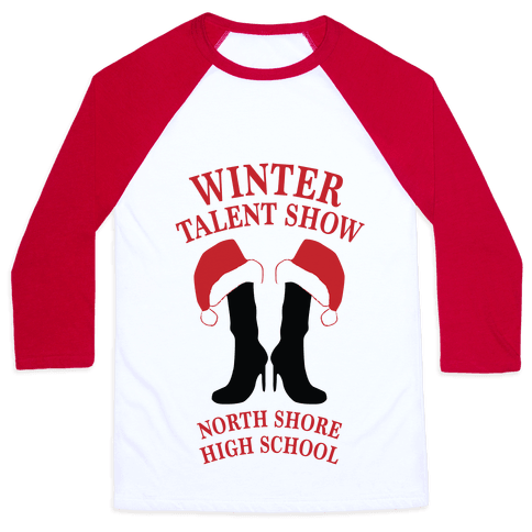 Mean Girls Winter Talent Show Baseball Tee