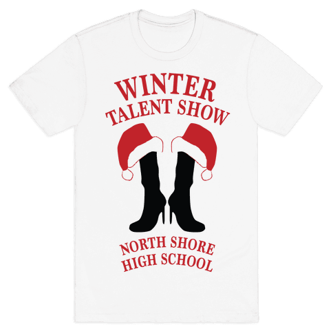 Mean Girls Winter Talent Show Mens T-Shirt