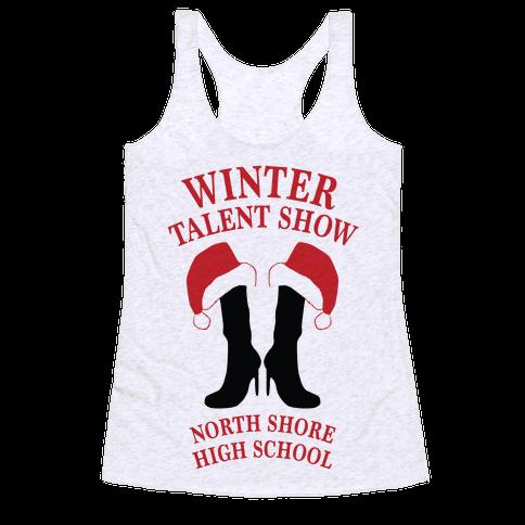 Mean Girls Winter Talent Show Racerback Tank Top
