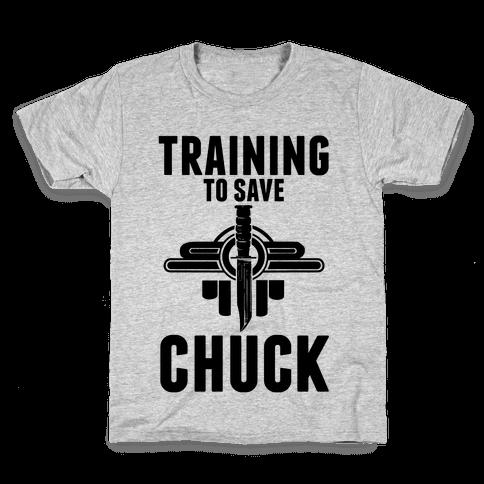 Training To Save Chuck Kids T-Shirt