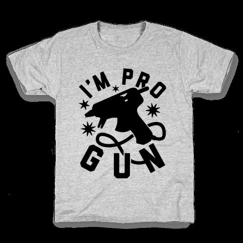 I'm Pro Glue Gun Kids T-Shirt