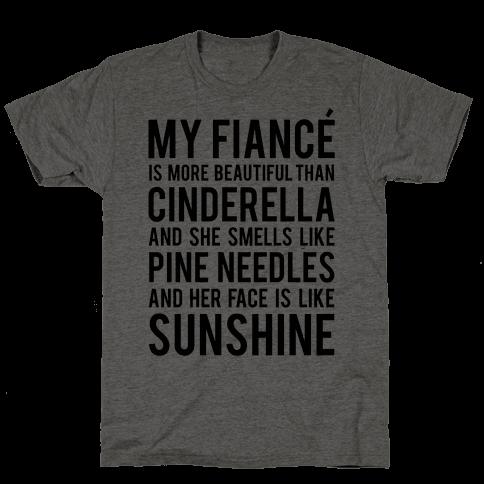 My Fiance (Cinderella) Mens T-Shirt