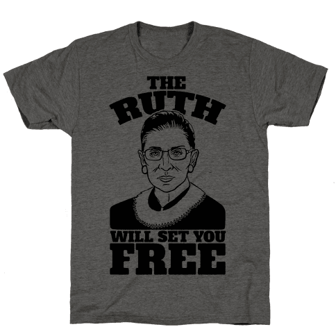 The Ruth Will Set You Free Mens T-Shirt