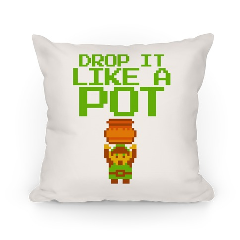 Drop It Like A Pot Throw Pillow Pillow