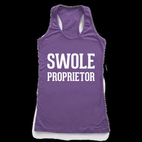 Swole Proprietor Racerback Tank Top