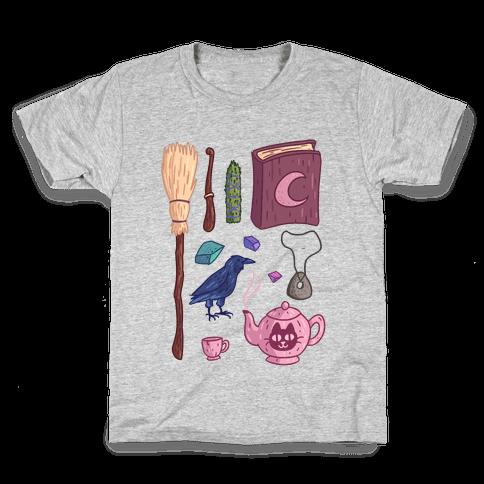 Witch Essentials Kids T-Shirt