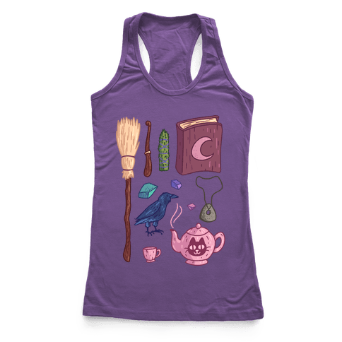 Witch Essentials Racerback Tank Top
