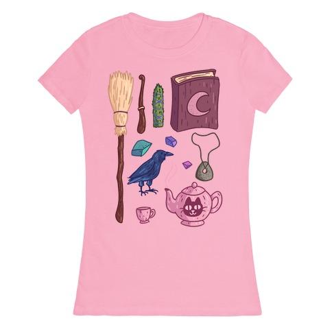 Witch Essentials Womens T-Shirt