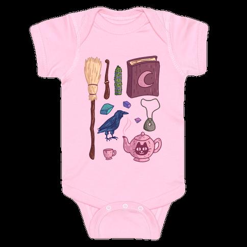 Witch Essentials Baby Onesy