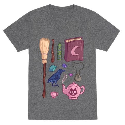 Witch Essentials V-Neck Tee Shirt