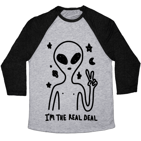 I'm The Real Deal Baseball Tee