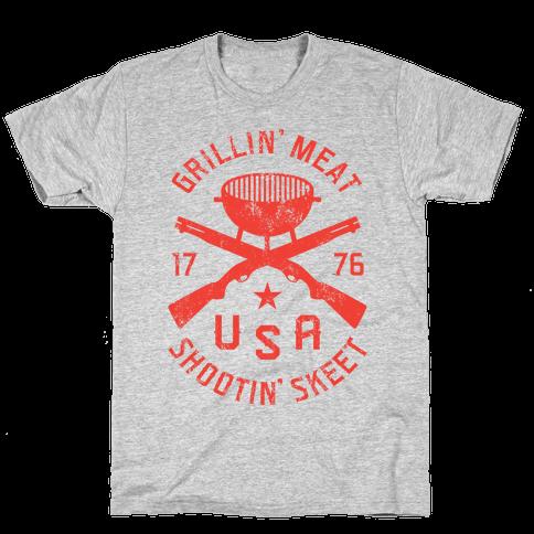 Grillin' Meat Shootin' Skeet