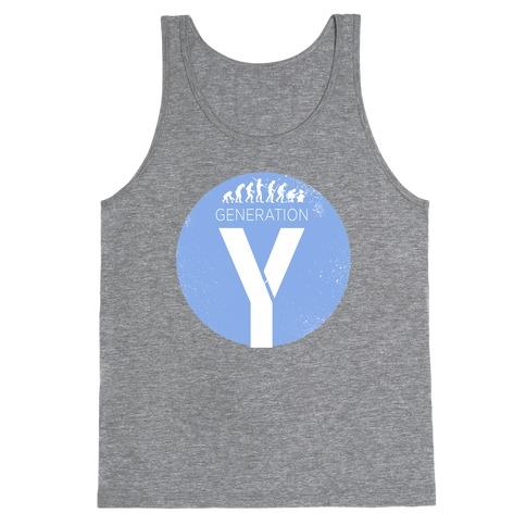 Generation Y Tank Top