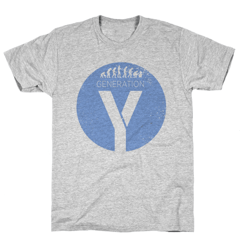 Generation Y Mens T-Shirt