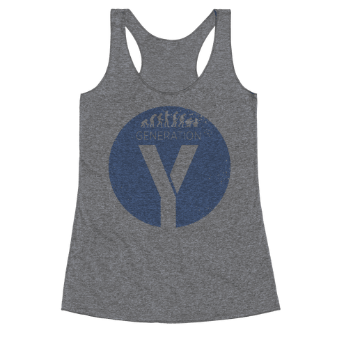 Generation Y Racerback Tank Top
