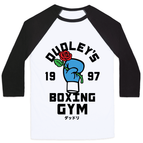 Dudley's Boxing Gym Baseball Tee