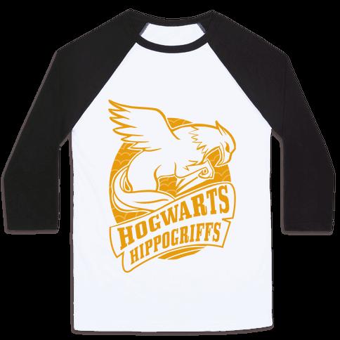 Hogwarts Hippogriffs Baseball Tee