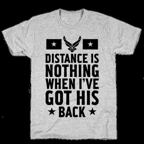 I've Got His Back (Air Force) Mens T-Shirt