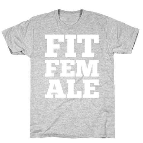 Fit Female Mens/Unisex T-Shirt