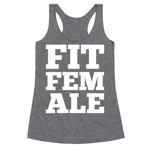 Fit Female Racerback Tank Top