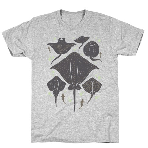 Family Of Stingrays T-Shirt