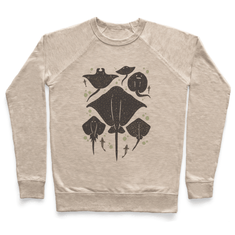 Family Of Stingrays Pullover