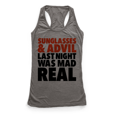 Sunglasses & Advil