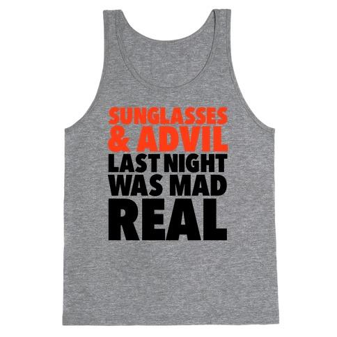 Sunglasses & Advil Tank Top