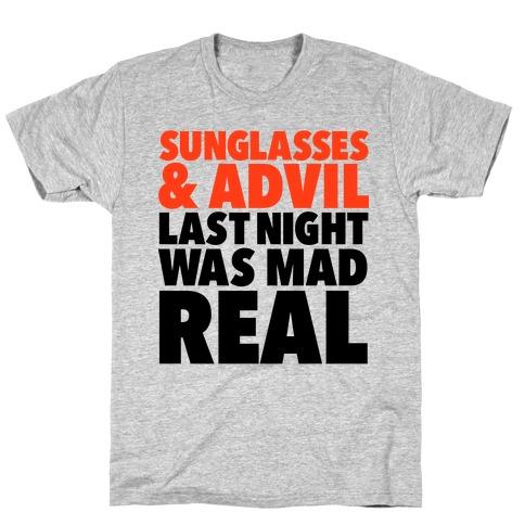 Sunglasses & Advil T-Shirt