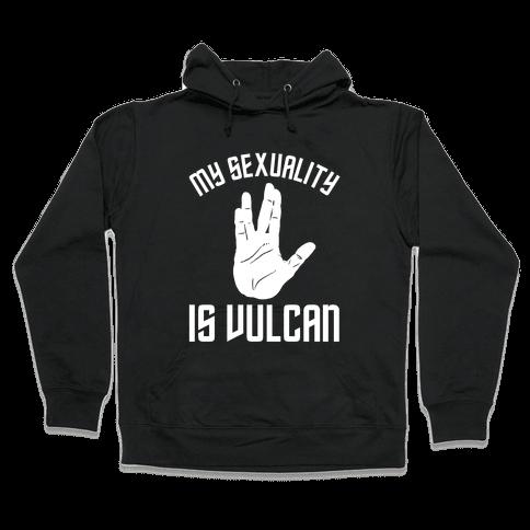 My Sexuality Is Vulcan Hooded Sweatshirt