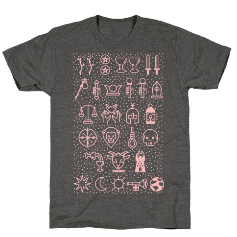 Tarot Card Icons T-Shirt