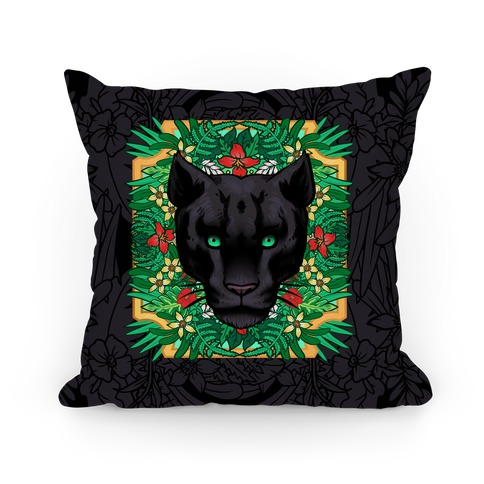 Lurking Panther Pillow