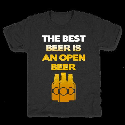 Open Beer Kids T-Shirt