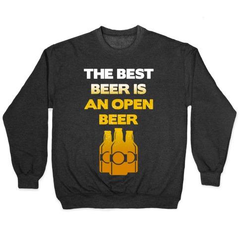 Open Beer Pullover